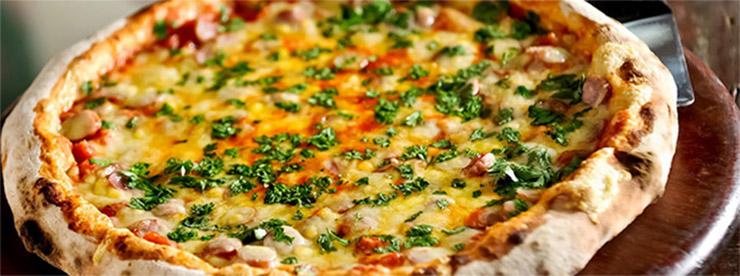 Pizza destaque: Escarola